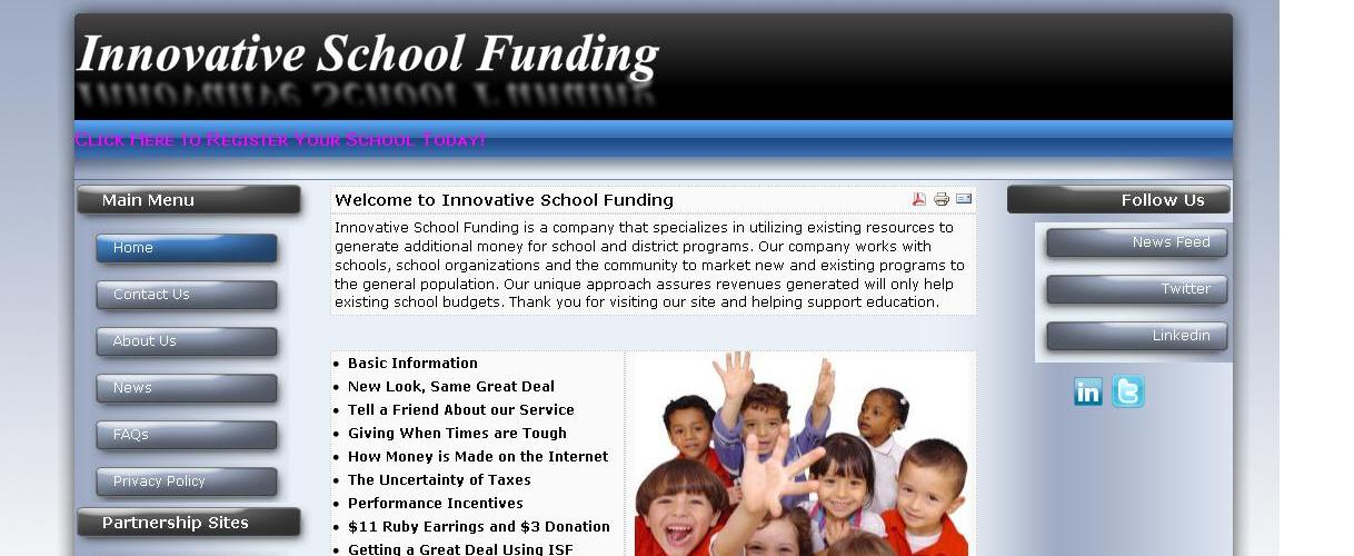 innovative school funding