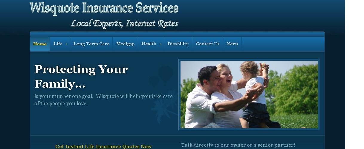 We Build Insurance Sites